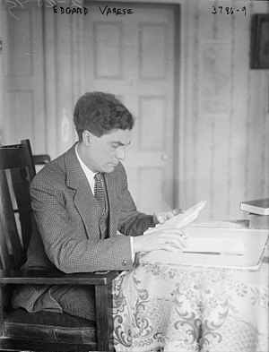 Edgard Varèse - Edgard Varèse in 1915