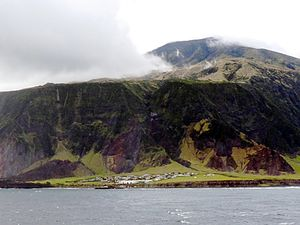 Saint Helena, Ascension and Tristan da Cunha - Edinburgh of the Seven Seas, Tristan da Cunha.