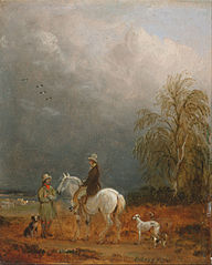 A Traveller and a Shepherd in a Landscape