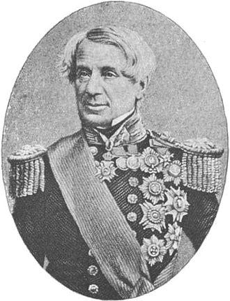 Lyons family - Admiral Lord Edmund Lyons, 1st Baron Lyons