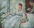 6 / La Lecture (Leon Leenhoff et Mme Manet)