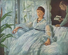 Image illustrative de l'article La Lecture (Manet)