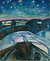 Edvard Munch, 1922, Starry Night, Munch Museum, Oslo.jpg