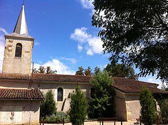 Auterive, Gers - Image: Eglise de Auterrive
