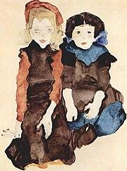 Mädchen, 1911