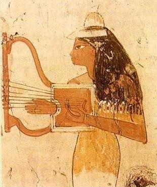 Egypt lyre 001