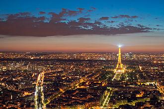 Metropolitan area - Paris (France), one of Europe's major centres