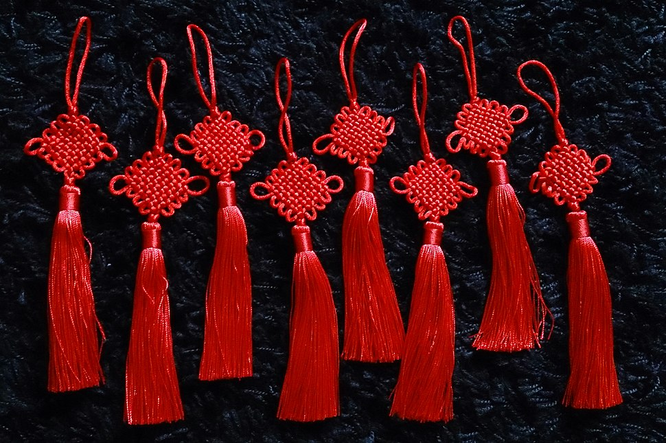 Eight chinese knots