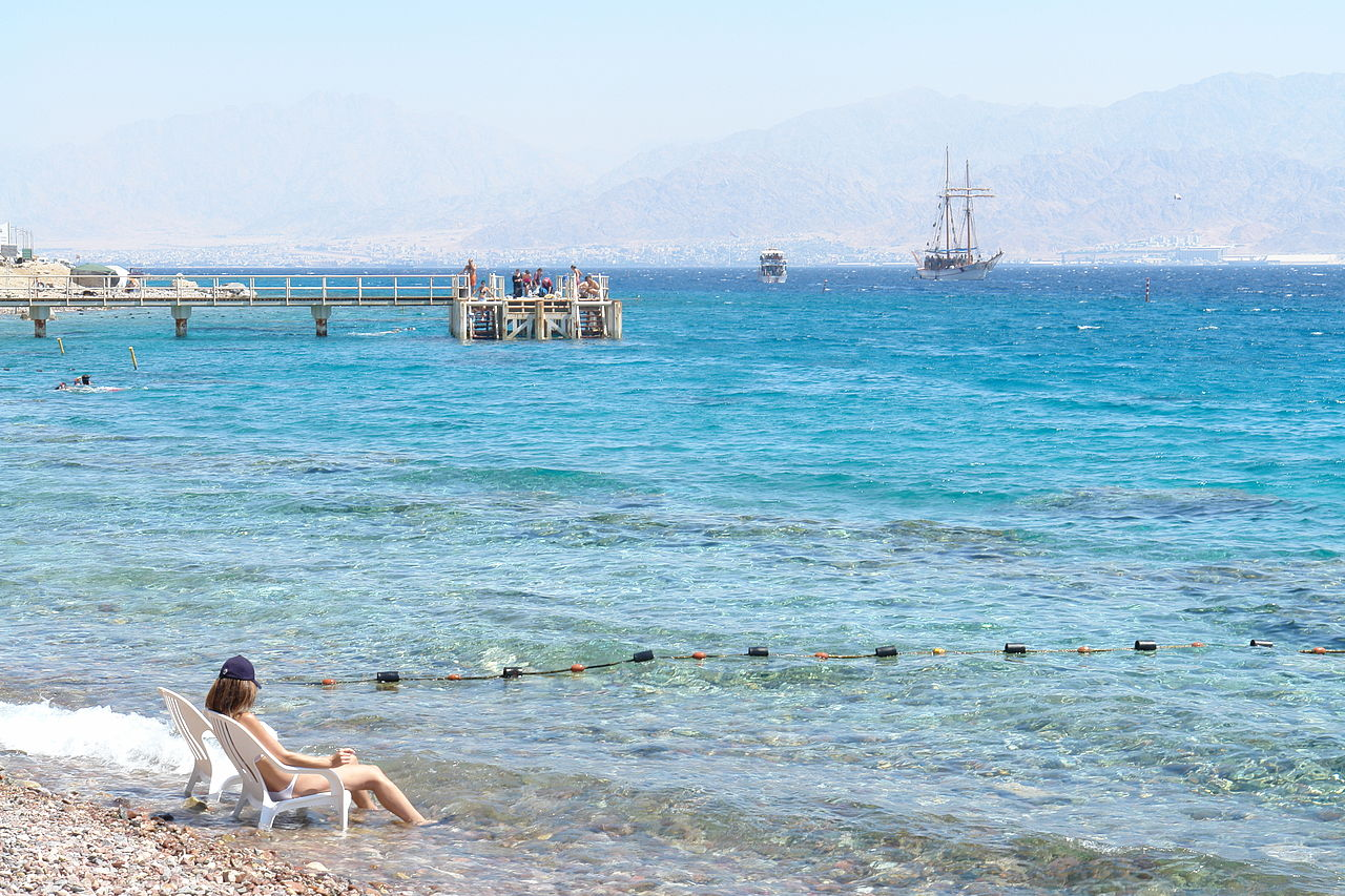 Eilat Israel  City new picture : Eilat South beach Israel