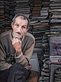 ElAbdi, one of the oldest sellers of used books in the capital of Morocco, Rabat.jpg