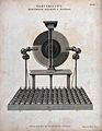 Electricity; J. Cuthbertson's electro-static generator, batt Wellcome V0025394.jpg