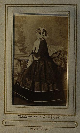 Sylvain Van de Weyer - Image: Elizabeth Anne Sturgis Bates, Madame Van de Weyer (d.1878)