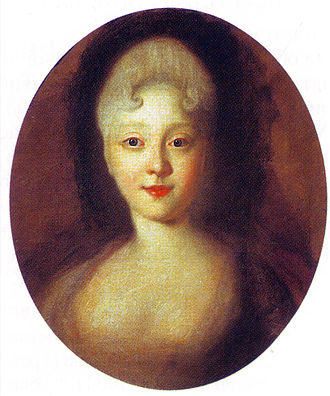 Elizabeth of Russia - Elizabeth in the 1720s (as painted by Ivan Nikitich Nikitin)
