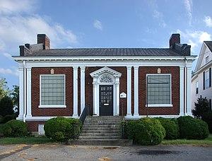 Elliott–Carnegie Library - Elliott-Carnegie Library, September 2012