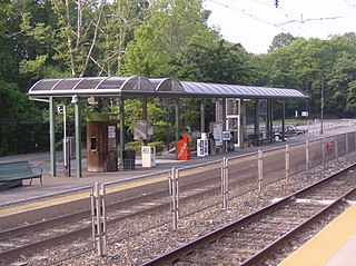 Elwyn station SEPTA Regional Rail station in Media, Pennsylvania