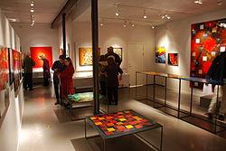 Emaljkonstutställning Gustavsbergs porslinsmuseum.JPG