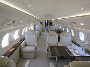 Embraer Lineage 1000 - Cabin