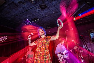 Tacocat - Image: Emily Noakes of Taco Cat at Ace of Cups 01