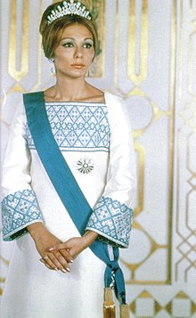 Photo de Farah Pahlavi