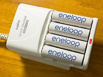 Eneloop - Sanyo Eneloop battery charger