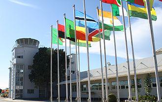 Operation Entebbe - Image: Entebbe international airport 2009 001