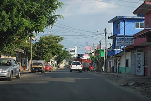 Tapachula - Street near city downtown