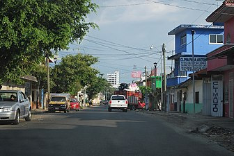 Street in downtown Tapachula