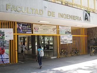 School of Engineering, UNAM - Entrance