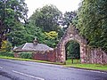 Entrance and lodge - geograph.org.uk - 1475225.jpg