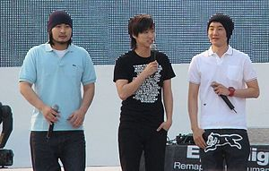 Epik High - Epik High performing at Everland in 2007