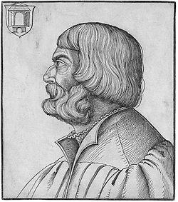 Erhard Schön Bildnis Albrecht Dürer.jpg