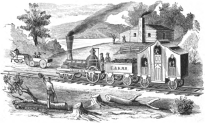 1836 : Erie and Kalamazoo Railroad Offers First Passenger Service