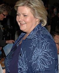 {{nb| Erna Solberg, Høyres leder og tidligere ...