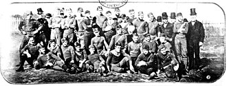Essendon Football Club - Early photo of a 1872 Essendon team