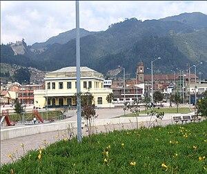 Bogotá Savannah Railway - Restored station of the Savannah Railway in Zipaquirá