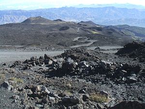 English: Mount Etna (Sicily) Français : Mont E...