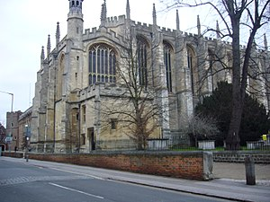 John Thurso - Eton College Chapel