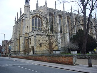 Justin Welby - Chapel of Eton College