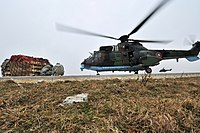 Eurocopter Cougar - sling load training with Bulgarian forces -1.jpg