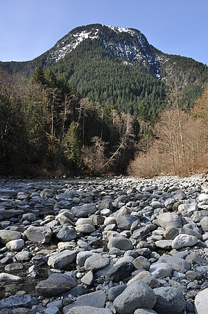 Evans Peak, Golden Ears Provincial Park, British Columbia.