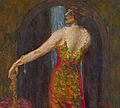 Evfimia Nosova (Ryabushinskaya) by N.Feofilaktov (1913, priv.coll).jpg