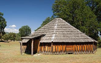 The Round House (novel) - Exterior, Wassama Round House