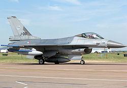 F-16AM 312 Multirole Sqn RNLAF