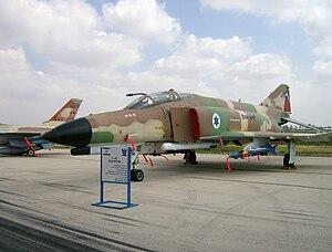 1973 al-Mazzah Airport Raid - Israeli F-4E