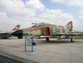 1973 raid on al-Mazzah Airport - Israeli F-4E