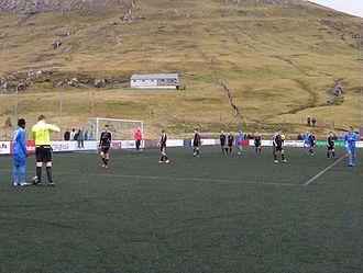07 Vestur - 07 Vestur 1. deild vs. FC Suðuroy, October 2011