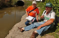 FEMA - 32709 - USGA hydrologists survey a stream in Ohio.jpg