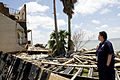 FEMA - 37365 - FEMA Individual Assistance specialist at a damaged home in Texas.jpg