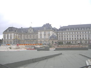 Aube - Prefecture building of the Aube department, in Troyes