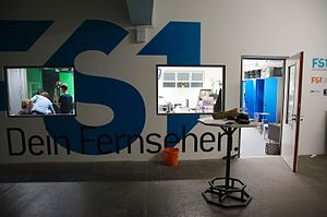 FS1 (Austrian TV channel) - FS1 - Entrance to the studio in Salzburg (2012)